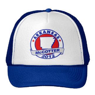 Arkansas Thad McCotter Mesh Hats