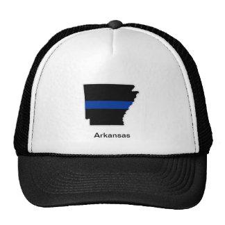 Arkansas Thin Blue Line Trucker Hat