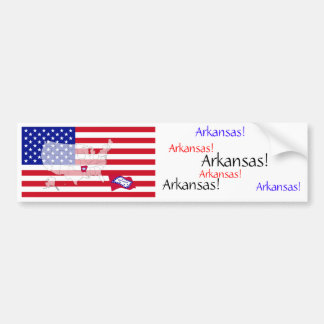 Arkansas, USA Bumper Sticker
