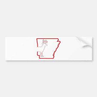 Arkansas White-Tailed Deer Bumper Sticker