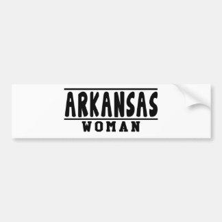 Arkansas woman designs bumper sticker