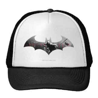 Arkham City Bat Symbol Mesh Hat