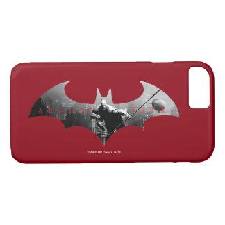 Arkham City Bat Symbol iPhone 8/7 Case