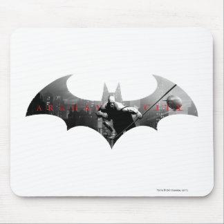 Arkham City Bat Symbol Mousepads