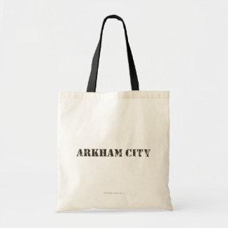 Arkham City Distressed Budget Tote Bag