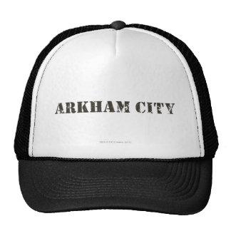 Arkham City Distressed Trucker Hats