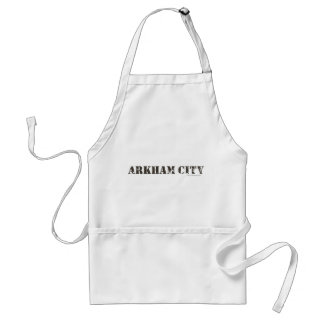 Arkham City Distressed Standard Apron