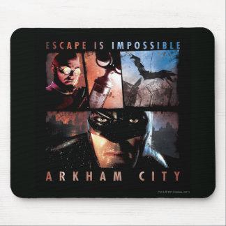 Arkham City Escape is Impossible Mousepad