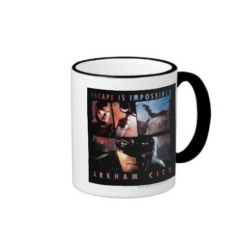 Arkham City Escape is Impossible Mugs