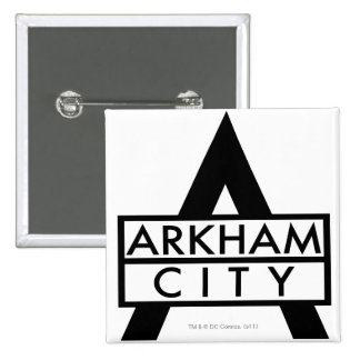 Arkham City Icon 15 Cm Square Badge