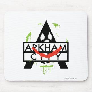 Arkham City Icon w/ Joker marks 2 Mousepads