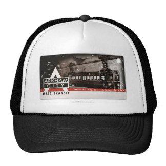 Arkham City Mass Transit Pass Mesh Hat