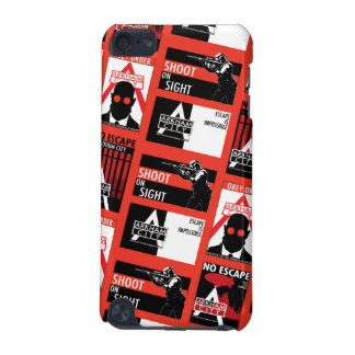 Arkham City Propaganda Pattern iPod Touch 5G Cases