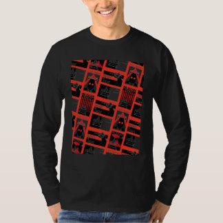 Arkham City Propaganda Pattern T-shirt
