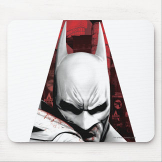 Arkham City Triangle Mouse Pad