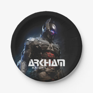 Arkham Knight Character Art 7 Inch Paper Plate
