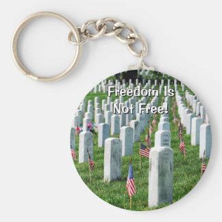 Arlington Cemetery Basic Round Button Key Ring