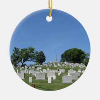 Arlington Cemetery Ceramic Ornament