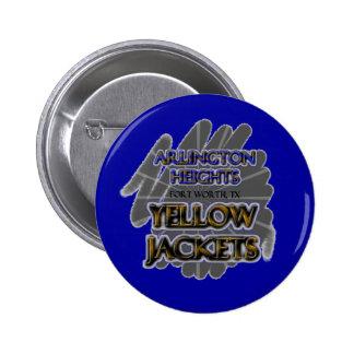 Arlington Heights Yellow Jackets - Fort Worth TX Pin