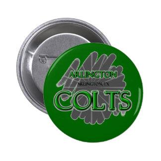 Arlington High School Colts - Arlington TX Pinback Button