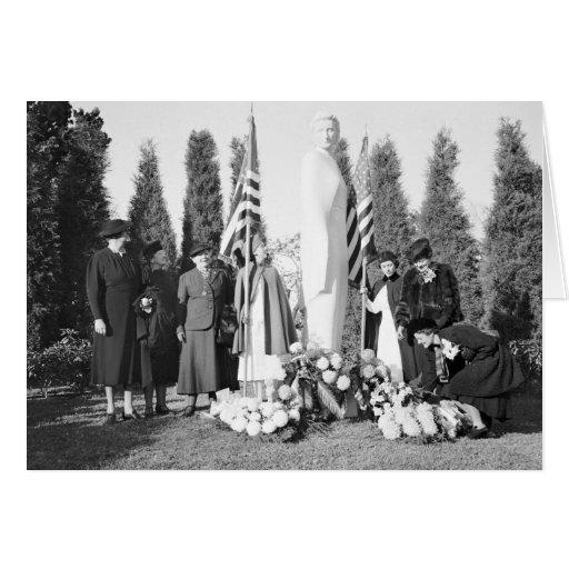 Arlington Memorial to Nurses: 1938 Cards