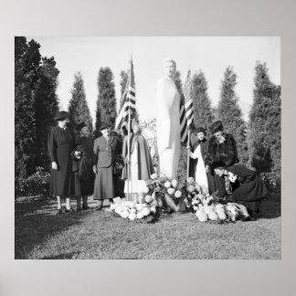Arlington Memorial to Nurses: 1938 Poster