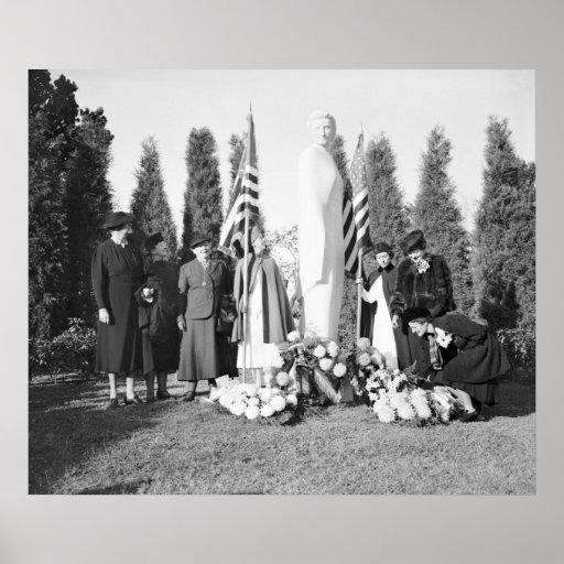 Arlington Memorial to Nurses: 1938 Print