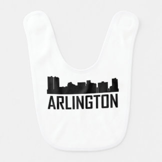 Arlington Texas City Skyline Bib