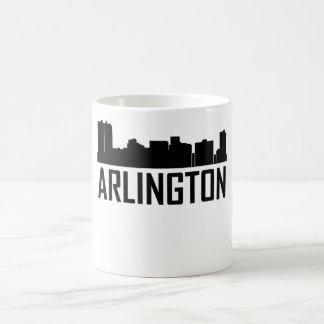 Arlington Texas City Skyline Coffee Mug