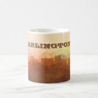 ARLINGTON, TEXAS SKYLINE - In the Clouds Coffee Mug
