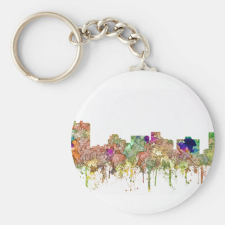 Arlington Texas Skyline SG-Faded Glory Key Ring