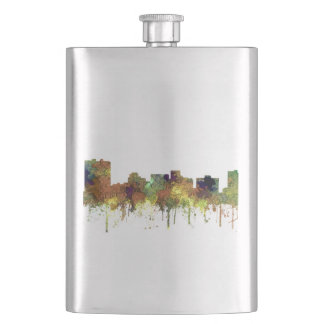 ARLINGTON TEXAS SKYLINE SG - Safari Buff - Hip Flask