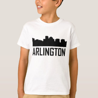 Arlington Virginia City Skyline T-Shirt