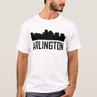 Arlington Virginia City Skyline T-Shirt