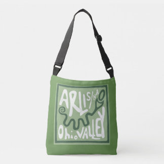 ARLIS/NA Ohio Valley Serpent Mound Crossbody Bag