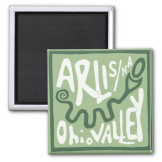 ARLIS/NA Ohio Valley Serpent Mound Magnet