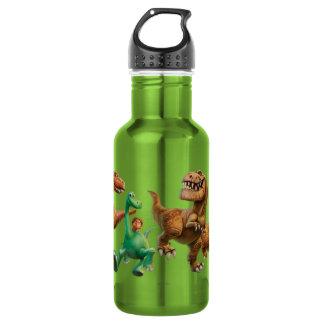 Arlo, Spot, and Ranchers In Field 532 Ml Water Bottle