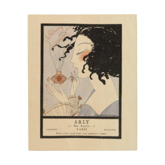 """Arly Perfume """"La Bohème"""" Wood Print"""