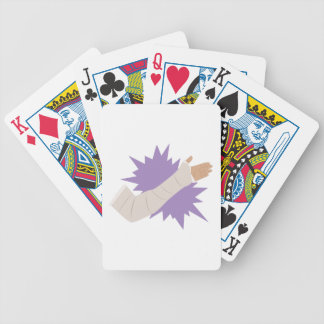 Arm Cast Bicycle Playing Cards