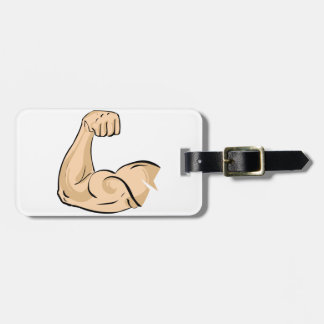 Arm Muscle Luggage Tags
