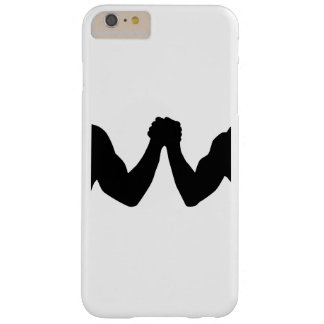 Arm wrestling barely there iPhone 6 plus case