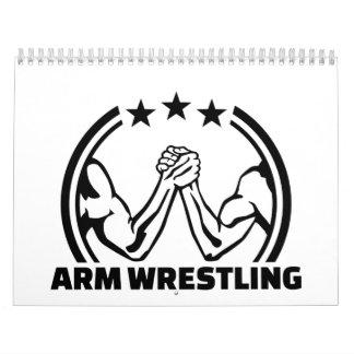 Arm wrestling calendar