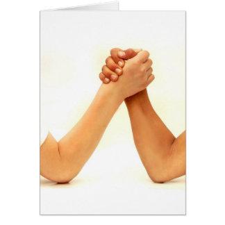 Arm Wrestling Card