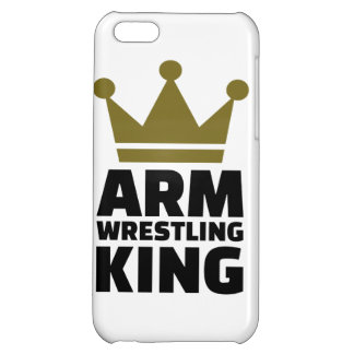 Arm wrestling king iPhone 5C cover