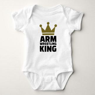 Arm wrestling king t-shirts