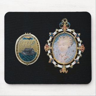 Armada Jewel, miniature of Queen Elizabeth I enclo Mousepads