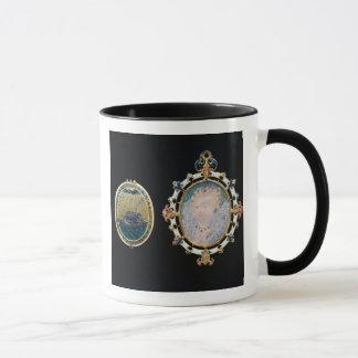Armada Jewel, miniature of Queen Elizabeth I enclo Mug