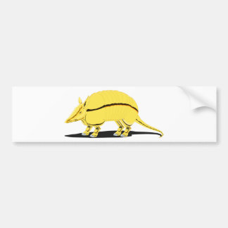 Armadillo Bumper Sticker