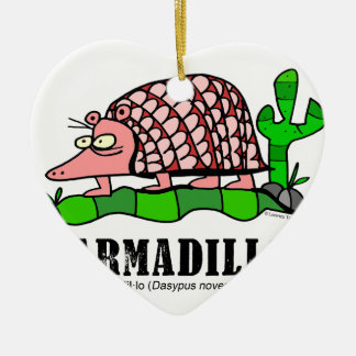 Armadillo by Lorenzo Ceramic Ornament