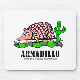 Armadillo by Lorenzo Mouse Pad